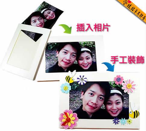 只要利用簡單的手工卡片製作與設計方法,像是插入照片,就能打造專屬卡片