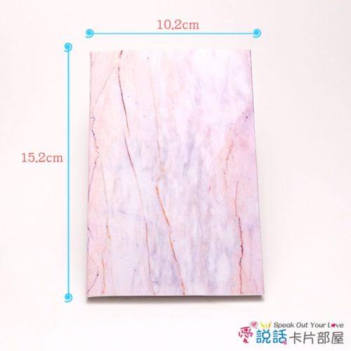 pink-marble-02愛說話錄音卡片-粉色奧羅拉大理石花紋