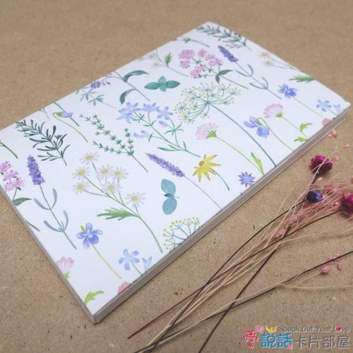 flower_05花草薰香錄音卡片-驚喜創意禮物,生日、情人節…