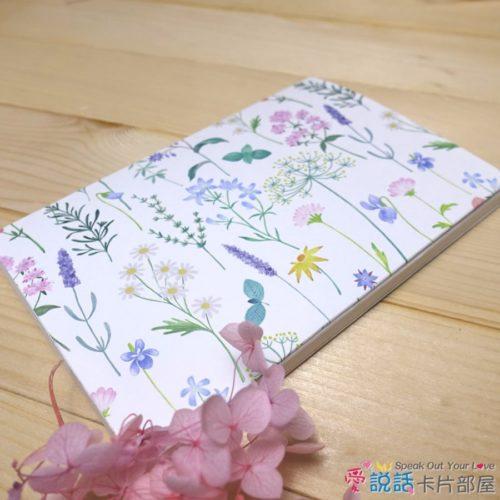 flower_09花草薰香錄音卡片-驚喜創意禮物,生日、情人節…