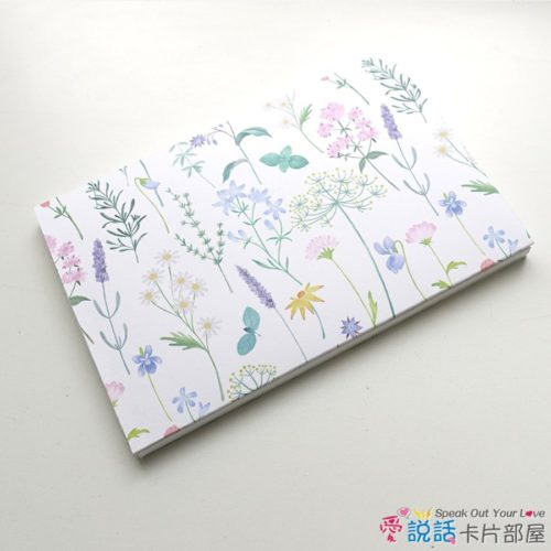 flower_13花草薰香錄音卡片-驚喜創意禮物,生日、情人節…